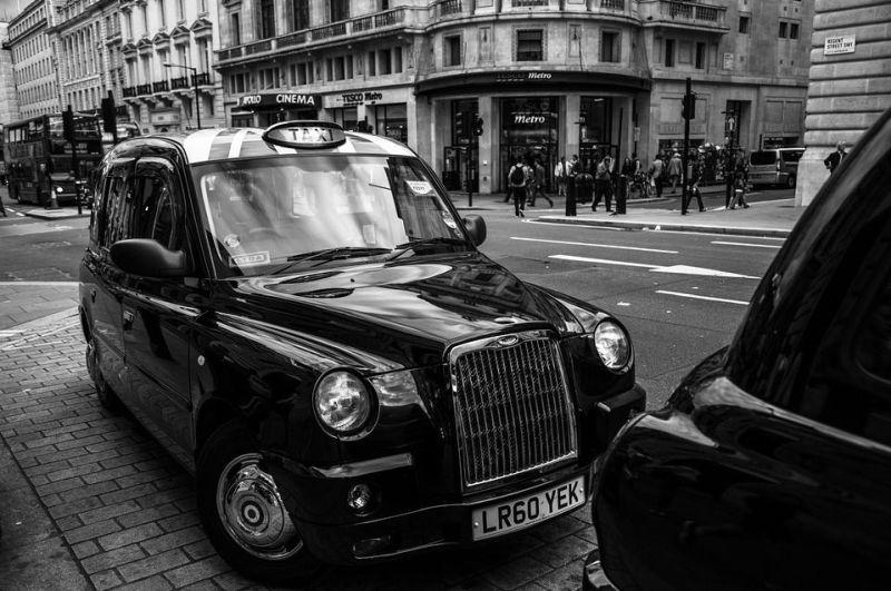taxi à Londres